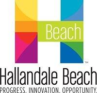 Hallandale Beach - logo