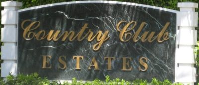 Country Club Estates logo