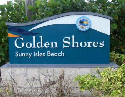 Golden Shores logo