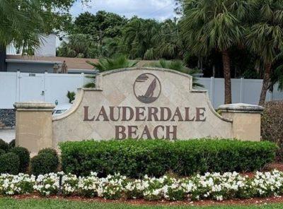 Lauderdale Beach logo