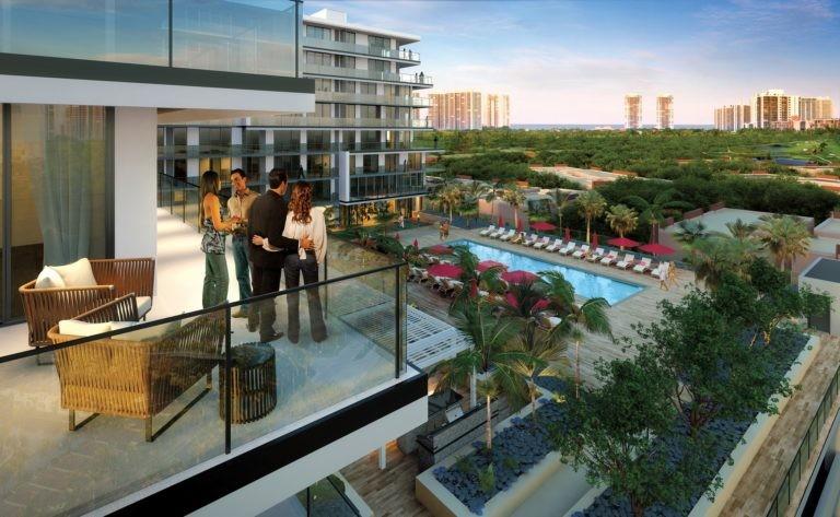 APS Residence Balcony