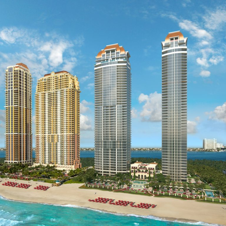 Estates at Acqualina Towers North East Angle