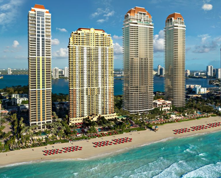 Estates at Acqualina Towers South East Angle