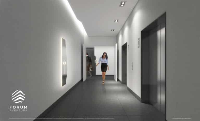 Forum-Aventura-Interior-Elevator-Lobby-1