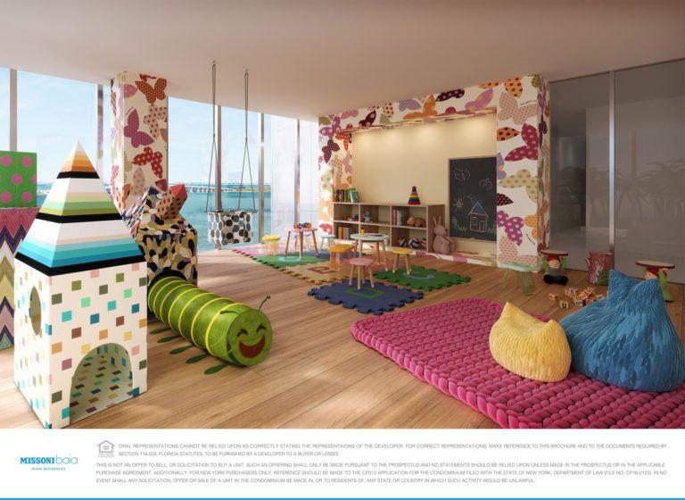 Missoni Baia Kids Playroom