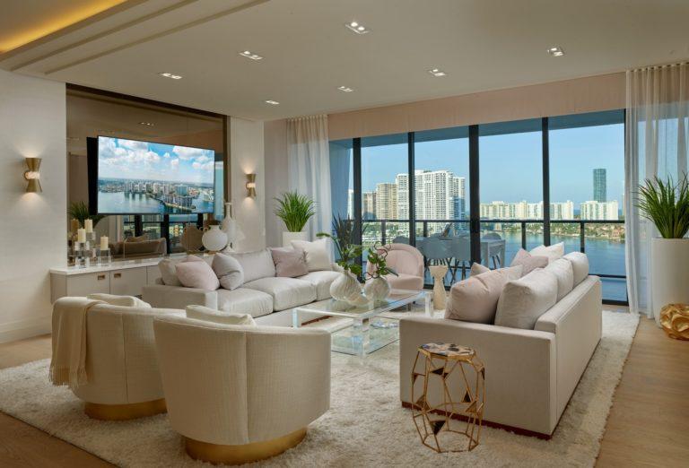 Model Residence#2 Living