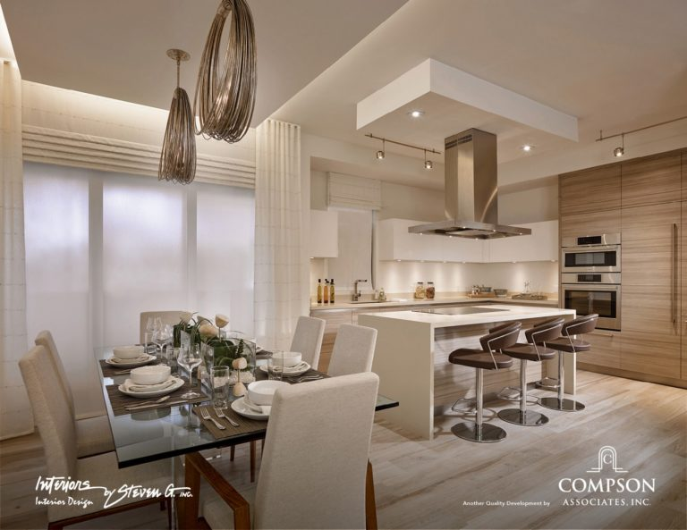 Tower155_Unit-A-DiningKitchen 1