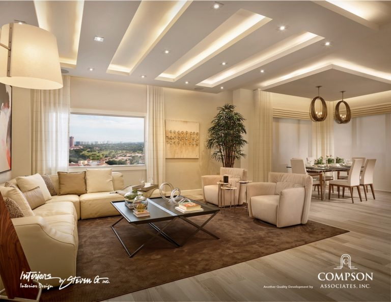 Tower155_Unit-A-LivingDining 1