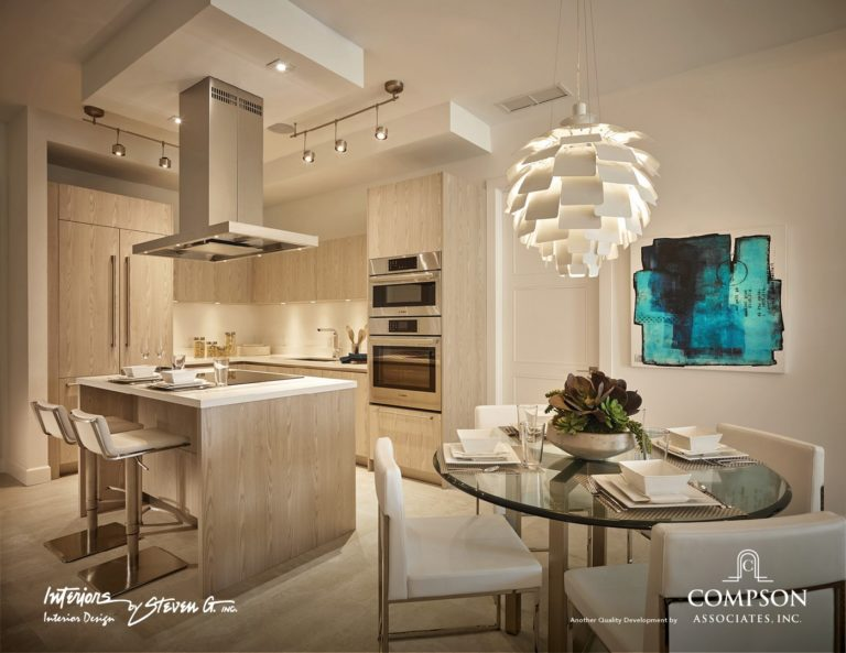 Tower155_Unit-B-DiningKitchen 1