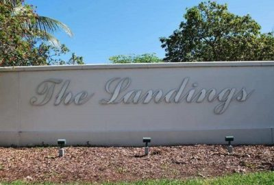 The Landings logo