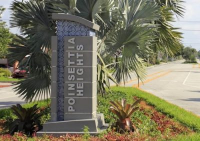 Poinsettia Heights logo