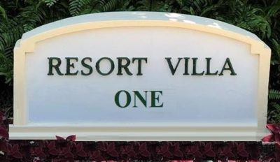 Ocean Club Resort Villas One logo