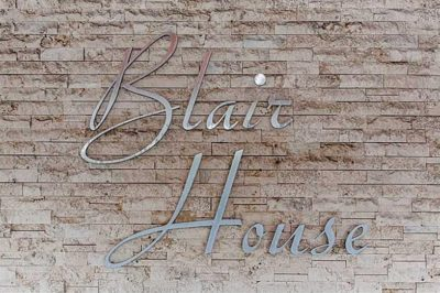 Blair House logo
