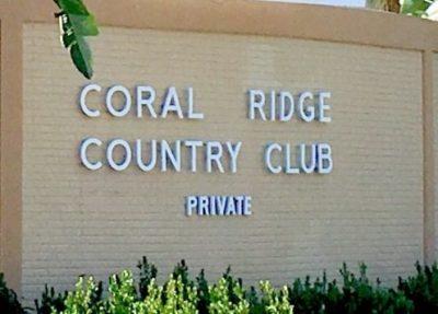 Coral Ridge Country Club logo