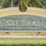 Sunset Falls - logo