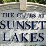 Sunset Lakes logo