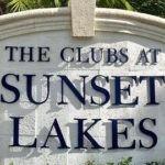 Sunset Lakes - logo