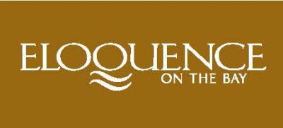 Eloquence on the Bay logo